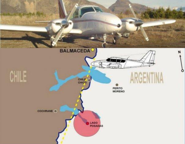 En Santa Cruz hallaron un avión chileno desaparecido hace casi 20 años atrás