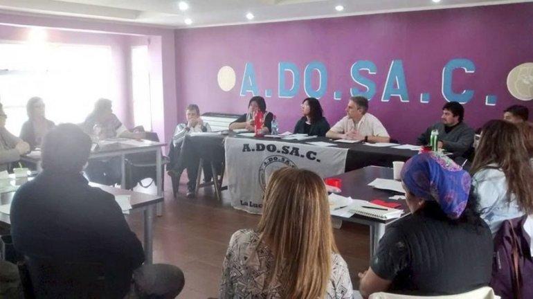 El plenario de secretarios generales del gremio docente tuvo lugar en Río Gallegos.