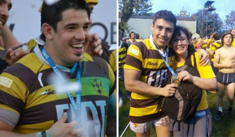 Dos comodorenses hicieron historia en lo más alto del rugby argentino