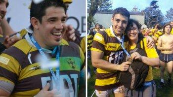 dos comodorenses hicieron historia en lo mas alto del rugby argentino