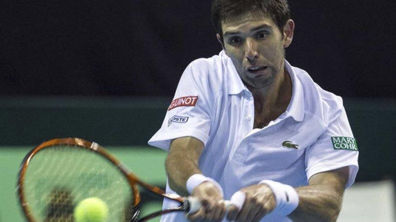 Federico Delbonis sufrió ayer su cuarta eliminación seguida en la primera ronda de un torneo de la Asociación de Tenistas Profesionales.