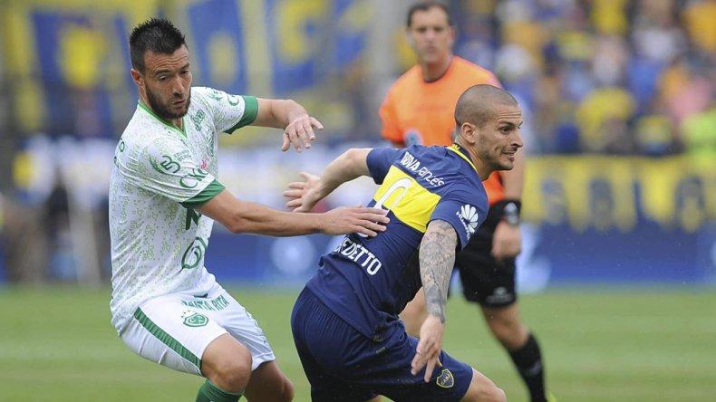 Darío Benedetto cree que estará recuperado para cuando Boca se mida con Central por la Copa Argentina.