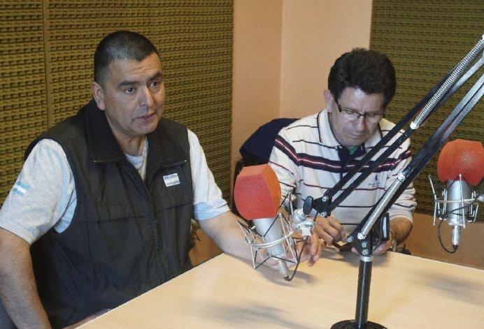 Juan Pérez y Tito Nievas contaron en Radio Del Mar su experiencia acerca del regreso a Malvinas.