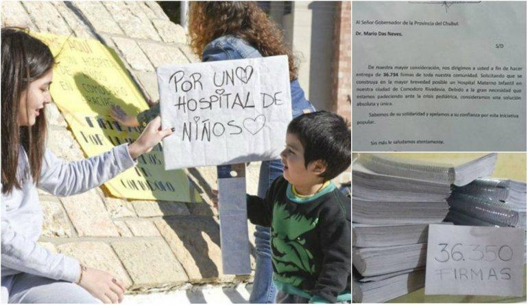 Diputados de Comodoro recibieron a las impulsoras del Hospital de Niños