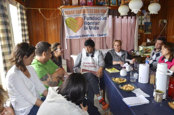 Los integrantes de Honrar la Vida buscan conformar una fundación mientras continúan con sus campañas de concientización de donación de órganos en diferentes instituciones de la región.