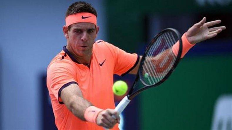 Del Potro debutó con triunfo y avanzó en el ATP de Estocolmo