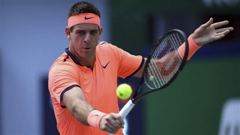 Del Potro arrancó y derrotó en el ATP de Estocolmo.