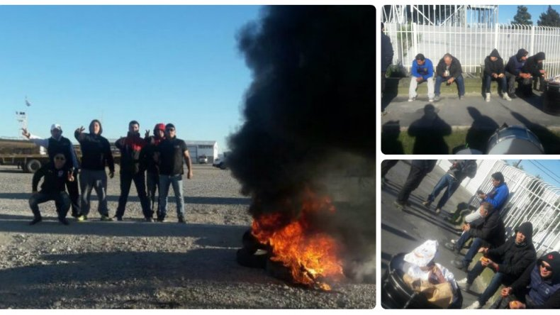 Petroleros bloquean oficinas de YPF y realizan vigilias en las rutas