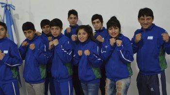 El equipo de boxeo de Chubut con todas las expectativas de hacer un buen papel en la instancia Nacional de los Juegos Evita.