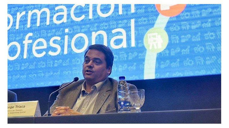 Triaca ponderó el acuerdo entre Gobierno