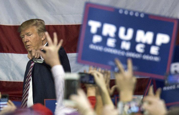 El candidato a presidente por el Partido Republicano