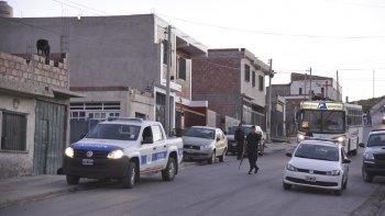 La calle donde el miércoles a las 19:30 se produjo el ataque que terminó costándole la vida a Angel Vidal.