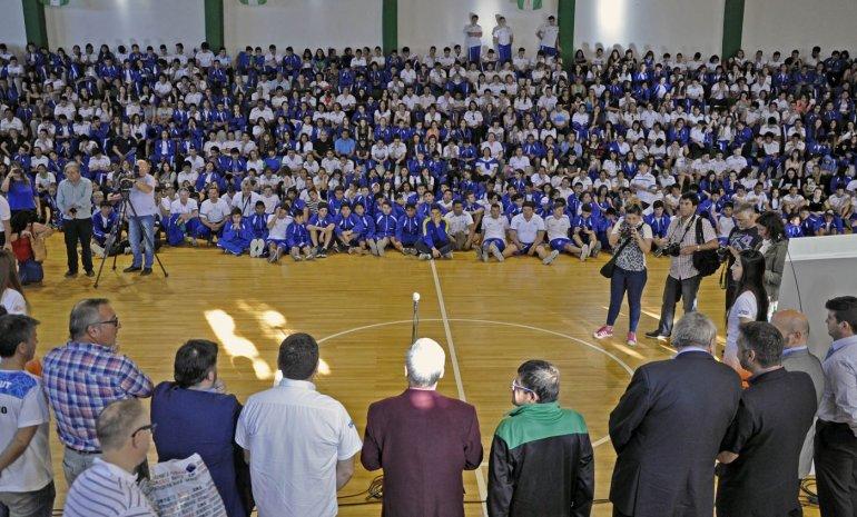 Das Neves despidió a los chubutenses que participarán de la final en Mar del Plata