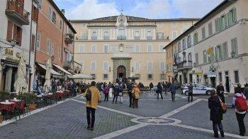 Vista exterior de los departamentos privados del Pontífice, ahora abiertos a los turistas.