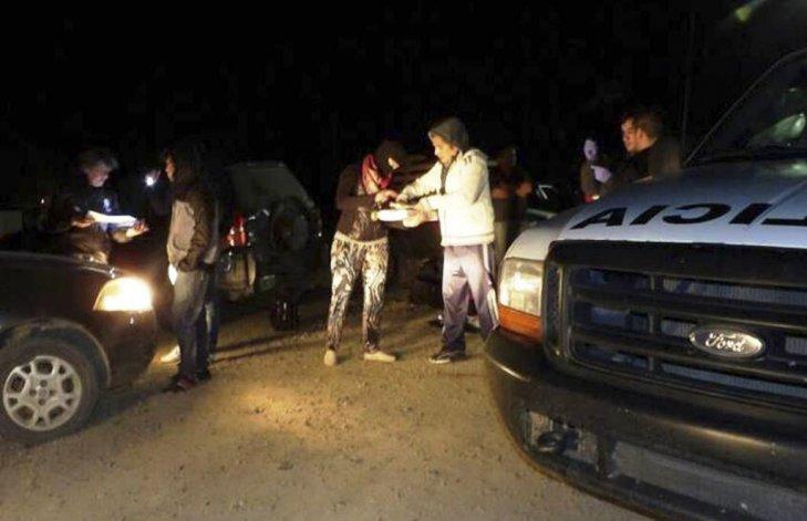 Efectivos de la División Narcocriminalidad de Caleta Olivia realizaron la detención en la terminal de ómnibus.