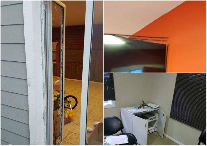 Entraron por el techo y destrozaron la sede de la UOM en Comodoro