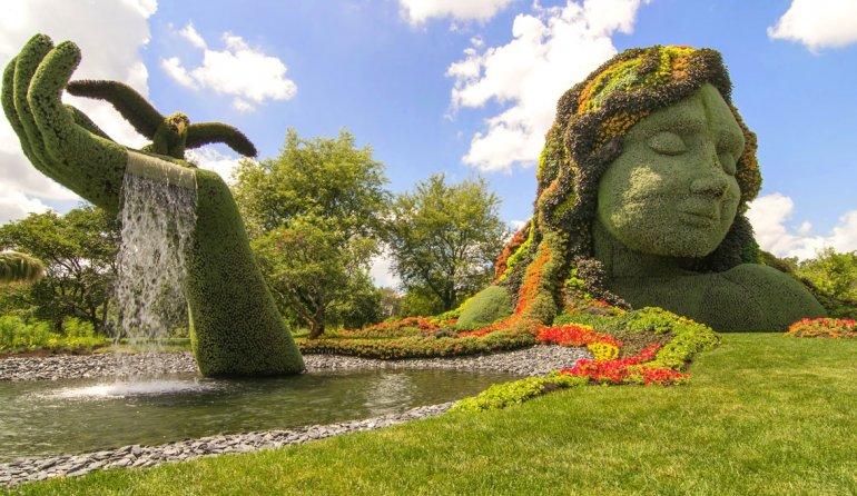 Estos trabajos de horticultura dejan sin palabras a quienes los observan por su perfección y belleza.