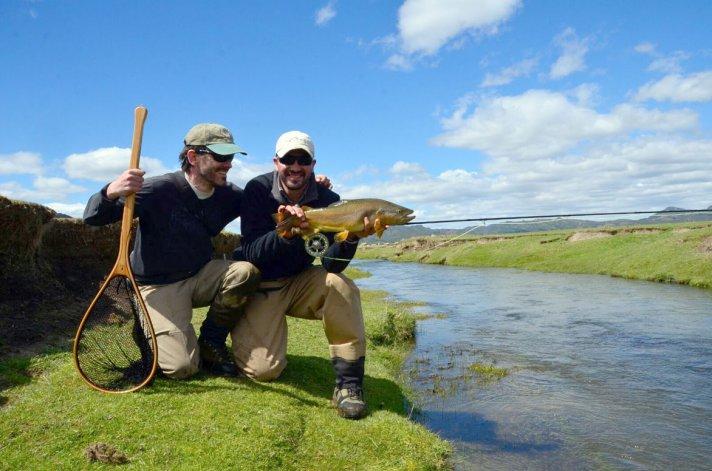 Esquel es el paraíso de pesca deportiva de truchas más buscado por los amantes mosqueros de todo el mundo.