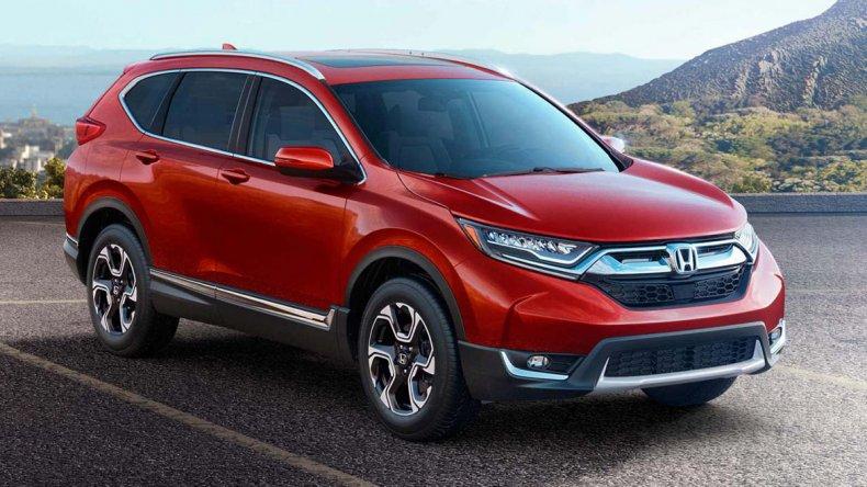 Así es la nueva generación de la Honda CR-V