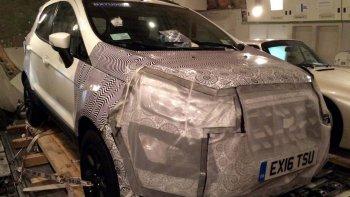 se viene la renovacion de la ford ecosport
