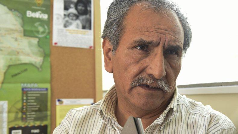 El cónsul boliviano en esta ciudad, Antonio Abal Oña.