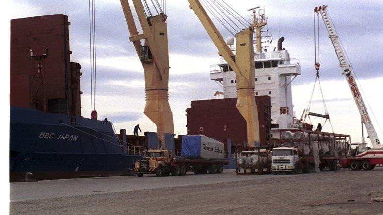 Actividades como la industria lanera encuentran en los reembolsos portuarios patagónicos un incentivo para su producción.