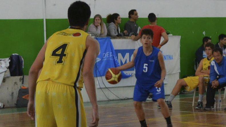 El básquetbol es uno de los deportes de los Juegos Evita cuya instancia Nacional se desarrolla en Mar del Plata.