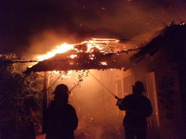 Le incendiaron la casa a uno  de los baleados de La Floresta