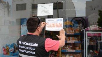 clausuran locales por irregularidades higienicas y contaminacion cruzada