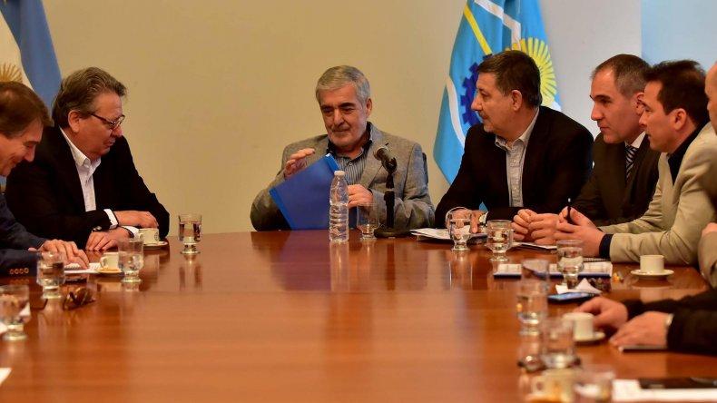 Das Neves se reunió con directivos de la Cámara de la Construcción