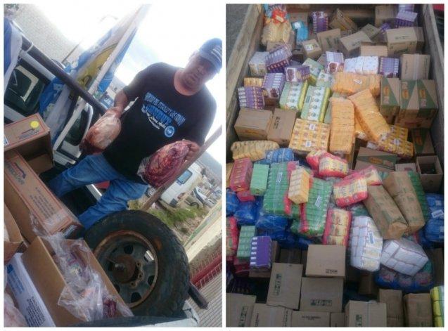 Donaron alimentos y más de 100 kilos de carne para los trabajadores de Guilford