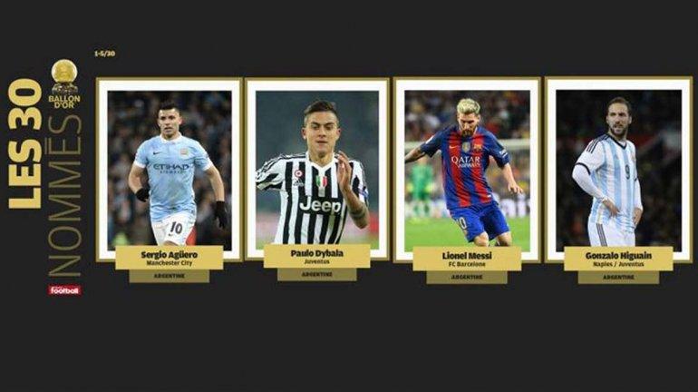 Leo Messi está otra vez entre  los nominados al Balón de Oro