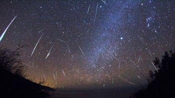 lluvia de estrellas ¿como hacer para verla?