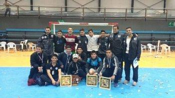 comodoro se quedo con el tercer lugar en el argentino juvenil