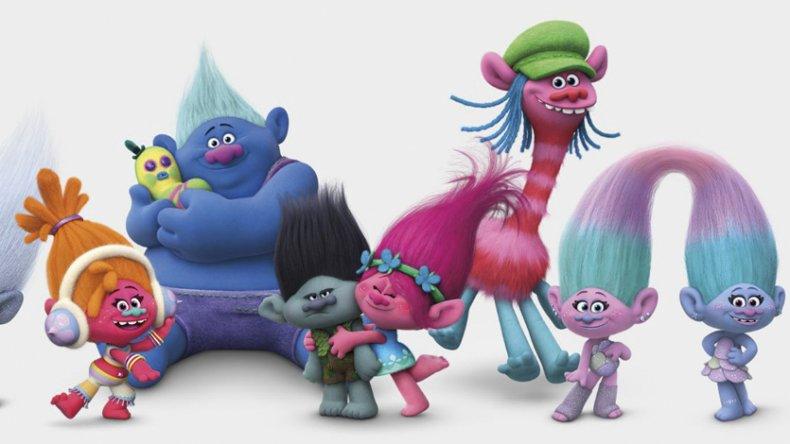 Con las voces de Anna Kendrick como Poppy y Justin Timberlake como Branch, se estrena Trolls, film producido por DreamsWorks.