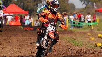 Tomás Brazao sigue dando pelea en el campeonato del MX del Norte que cerrará la temporada en Olavarría.