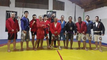 Terremoto Team la escuela donde se promueve las artes marciales mixtas.