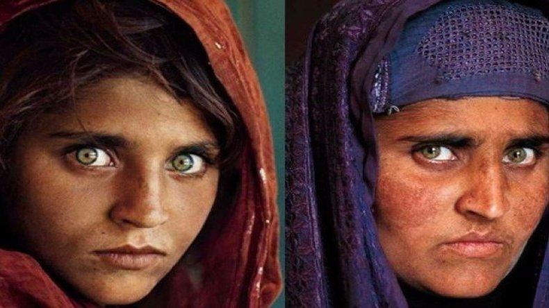 Arrestaron a la muchacha afgana de la célebre tapa de National Geographic