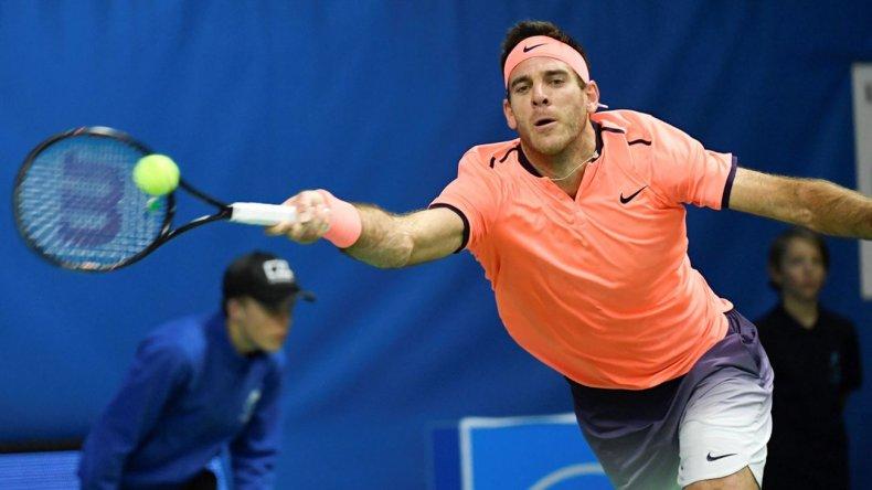 Del Potro debutó con triunfo en el ATP 500 de Basilea