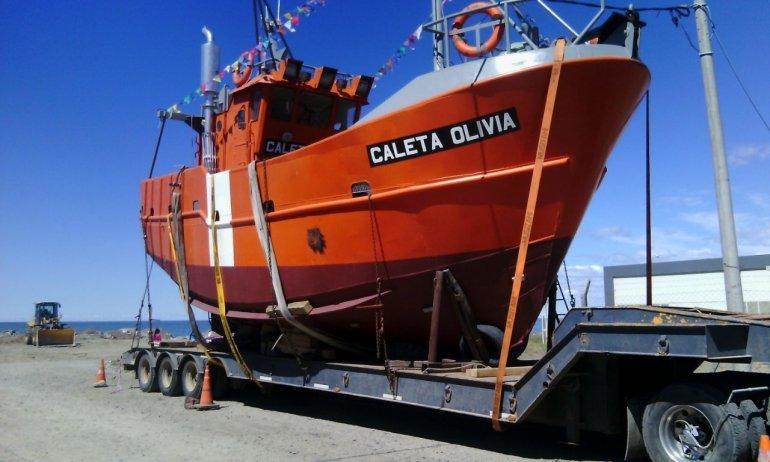 El primer barco pesquero construido íntegramente en Comodoro será botado mañana