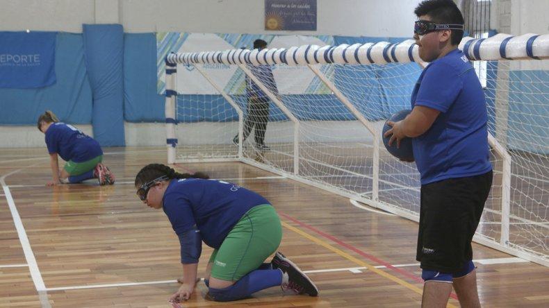 El goalball tuvo buenas noticias para Comodoro Rivadavia.