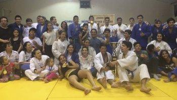 Gran concurrencia de judocas tuvo el certamen realizado en el municipal 1.
