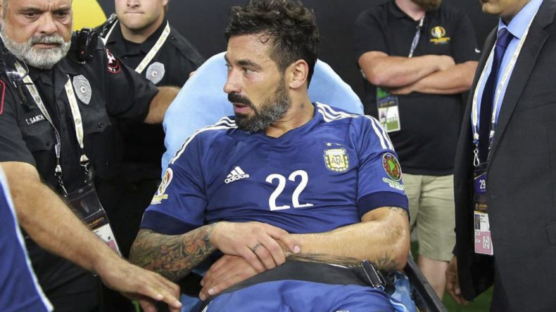 Ezequiel Lavezzi retorna a la albiceleste tras la fractura del codo izquierdo en la última edición de la Copa América.