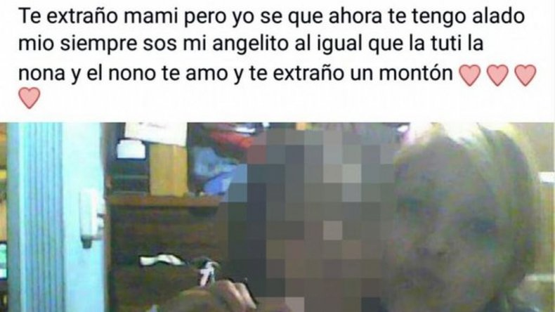 La emotiva carta de la hija de la ex pareja del femicida de Mendoza