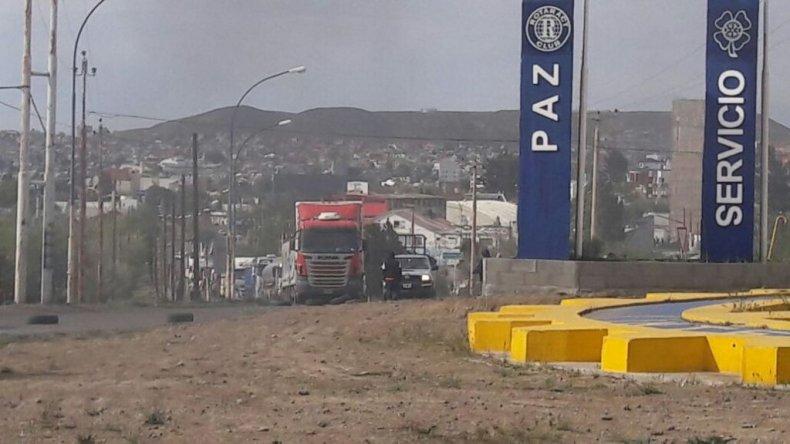 Levantaron el bloqueo en el acceso norte a Caleta Olivia