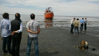 ya esta en el mar el primer buque pesquero construido en comodoro