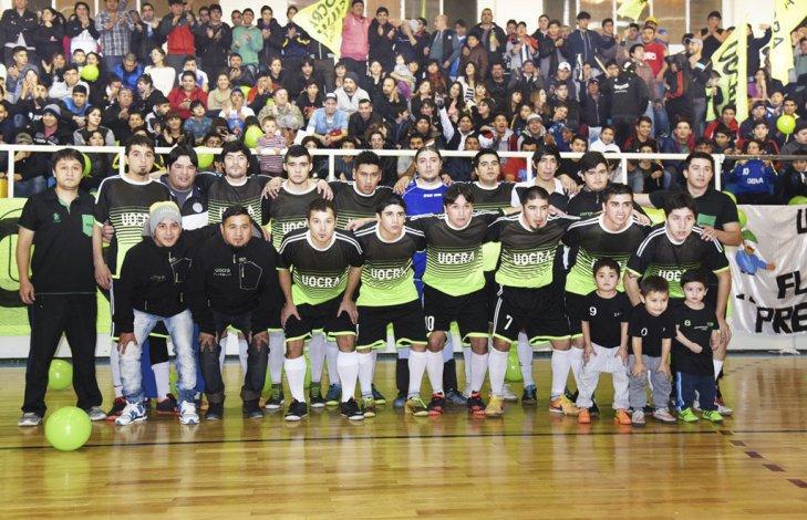 UOCRA es el actual campeón del torneo Apertura de fútbol de salón.