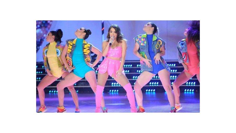 Lali Espósito cantó en ShowMatch: el anuncio que hizo sobre su carrera
