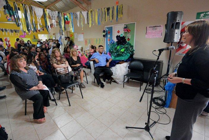El centro de promoción barrial está en una de las zonas más pobladas de Comodoro Rivadavia.