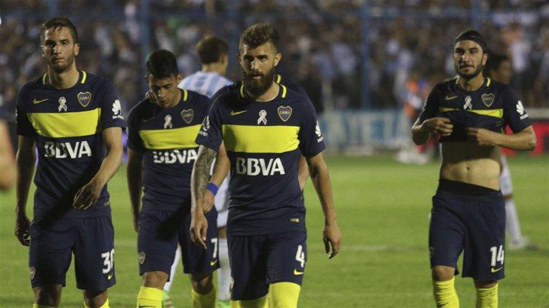Boca viene de empatar 2-2 con Atlético Tucumán